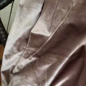 Blush colored Rachel Roy curtains( set of 5).